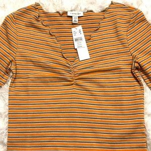 TOPSHOP | Vintage Style Striped Top